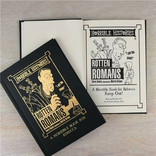 Personalised Horrible Histories Rotten Romans